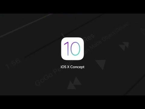 [Video] Apple iOS 10 Advanced Control Center Concept