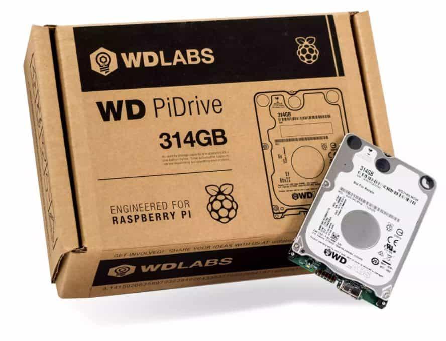 Western Digital PiDrive - 314GB Power-Efficient Storage For Raspberry Pi 1 - Florida Independent