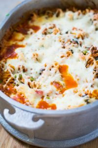Healthy Homemade Pizza Casserole Recipe 1 - Florida Independent