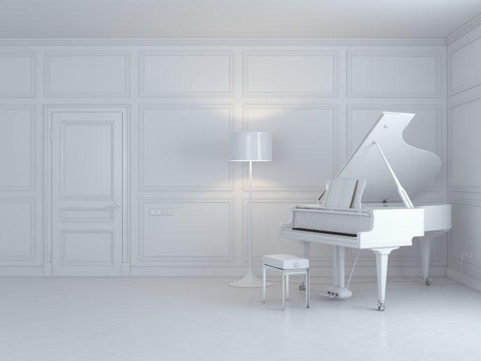 weird sad piano