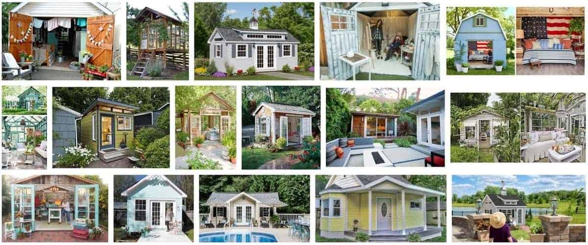 10 Tips and Inspiration for Creating a Glamorous She-Shed