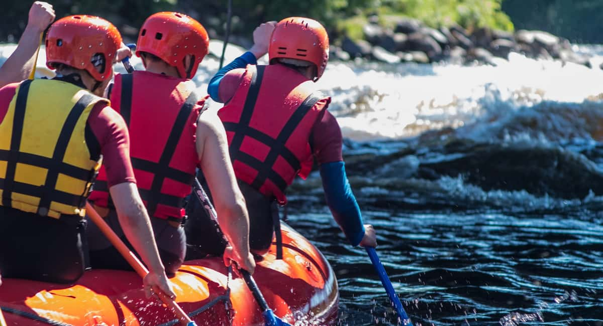 white water rafting gear