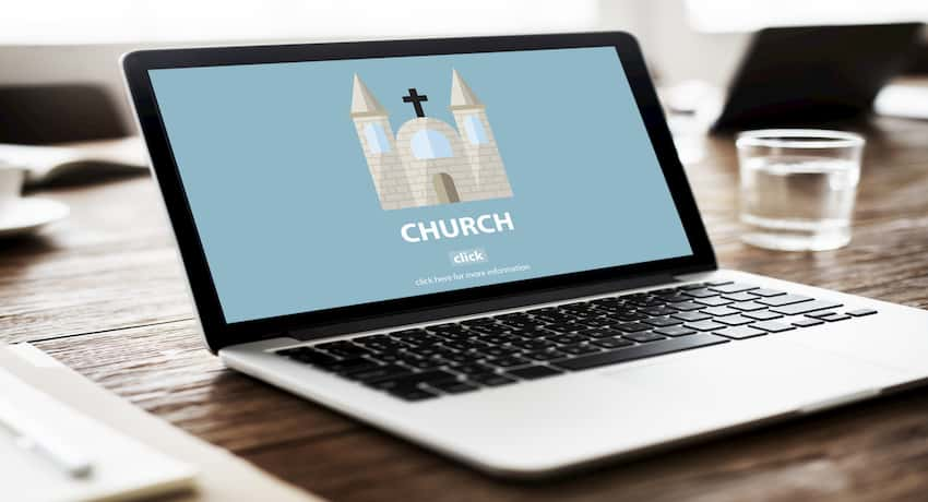 build a church website