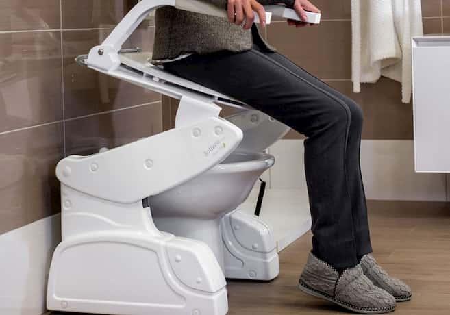 elderly toilet seat