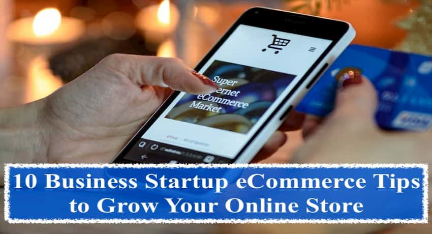 business startup ecommerce tips
