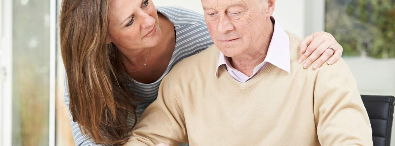 dealing with dementia in a parent