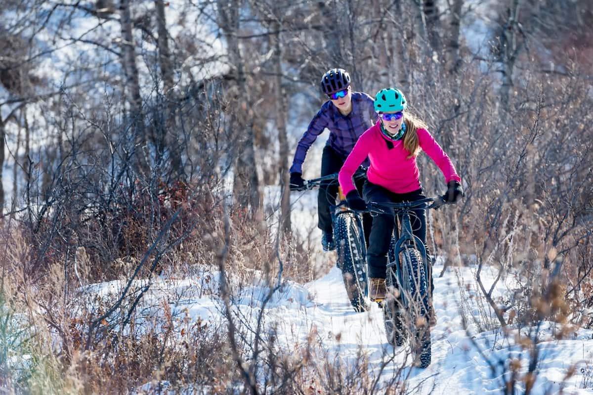 Ride a Bike in the Winter