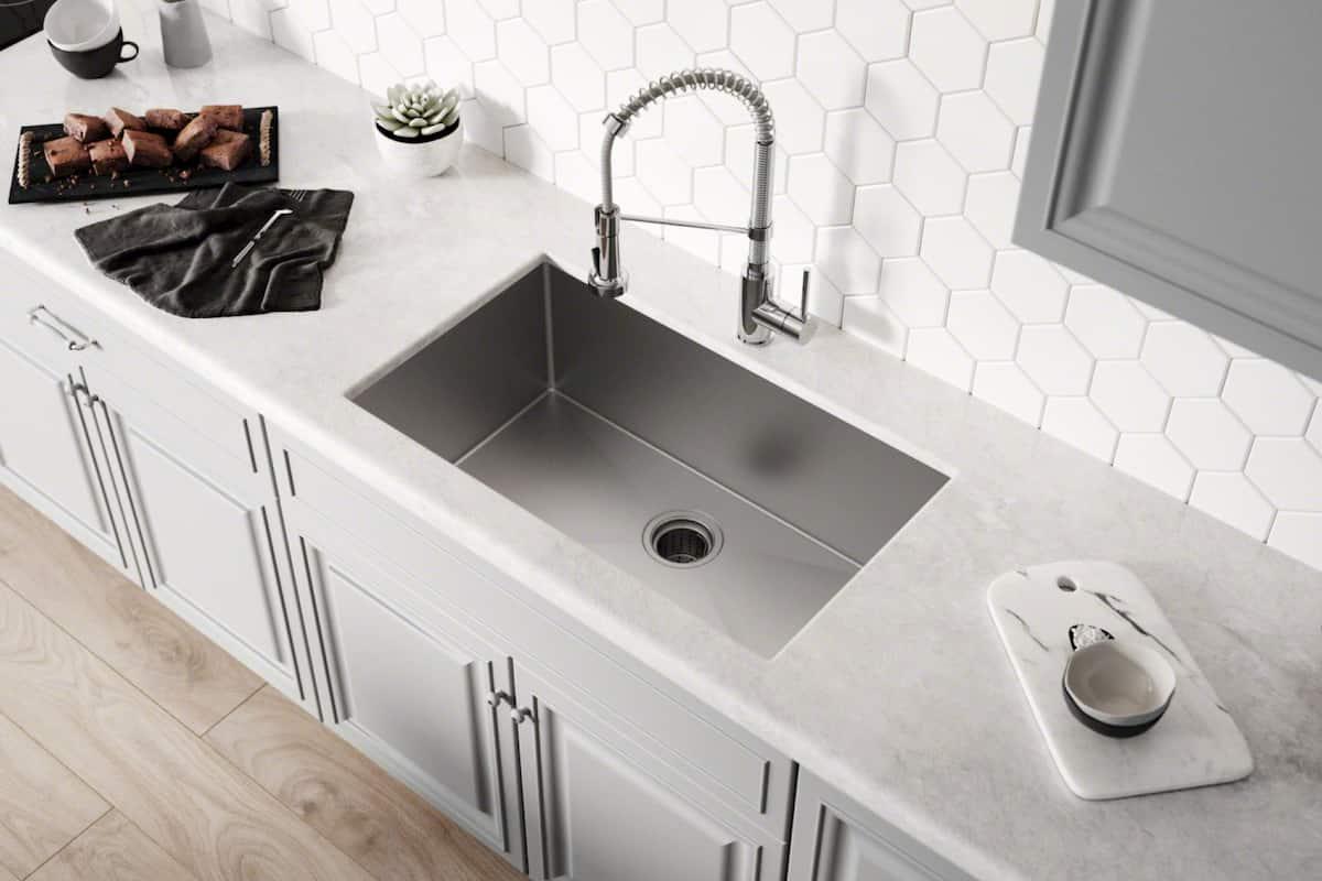 stainless steel undermount kitchen sinks
