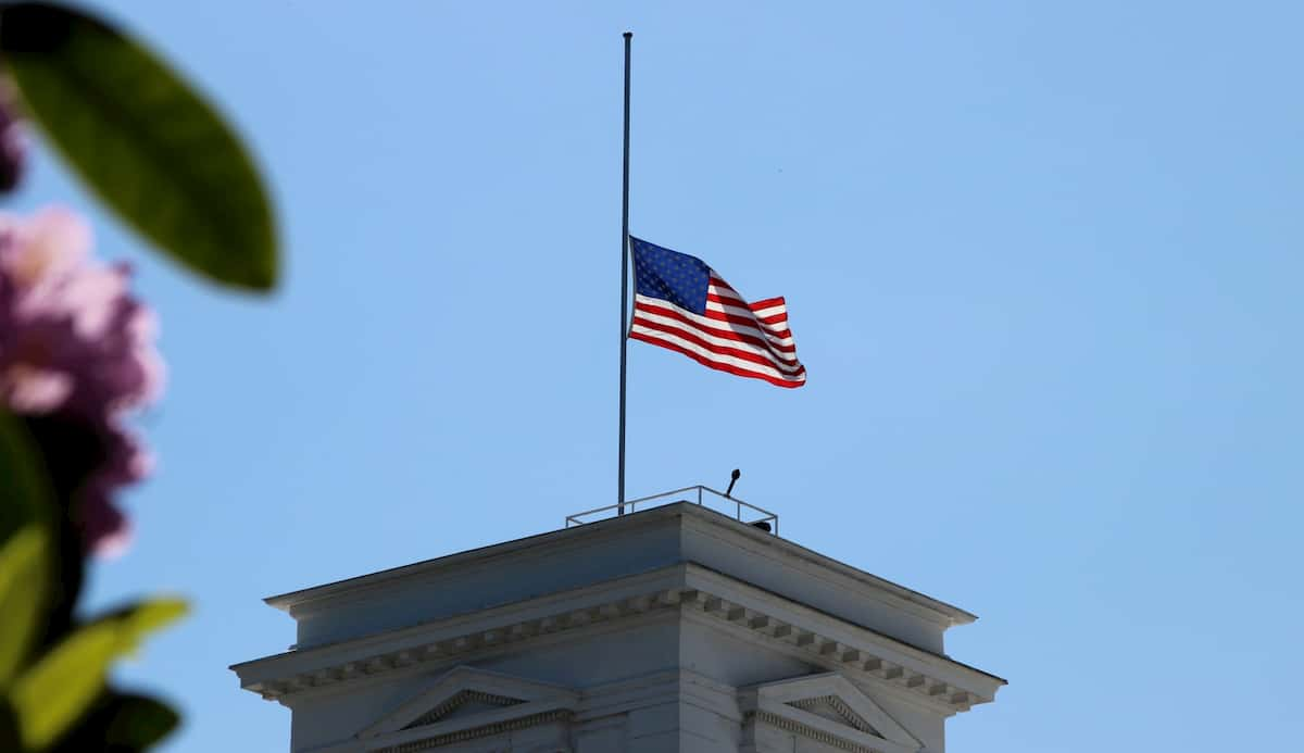 when to fly flags at half-mast