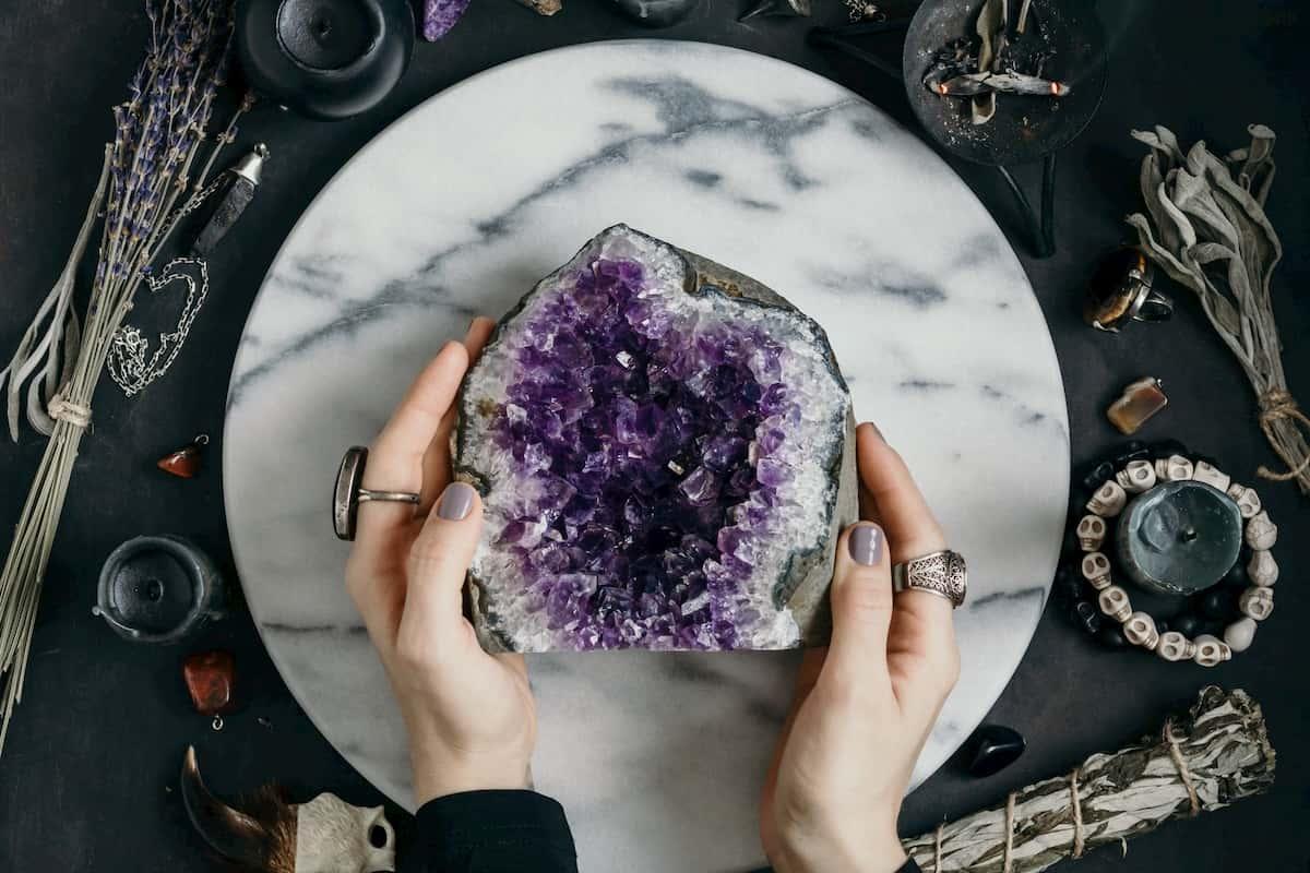 Use Healing Crystals