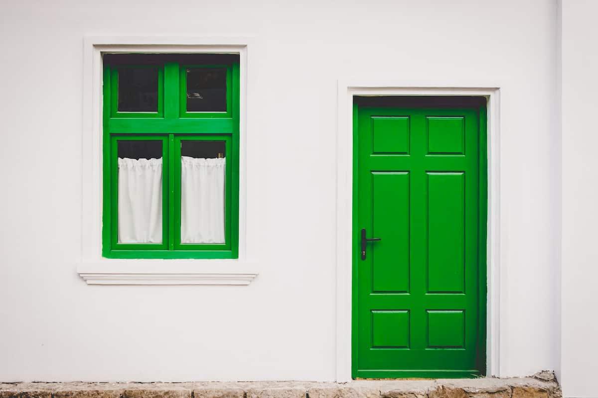 painted door ideas