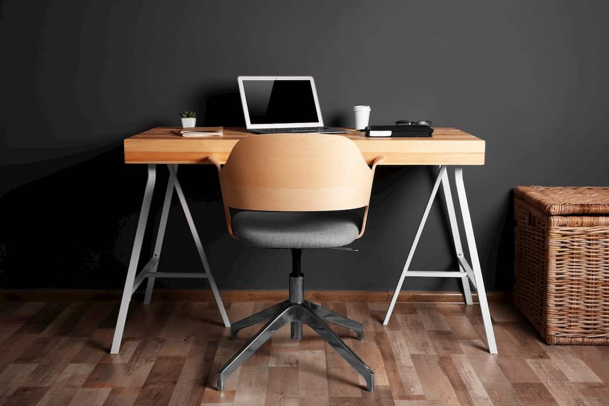 ergonomic setup