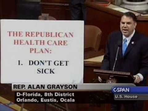 """Rep. Alan Grayson introduces the """"War Is Making You Poor Act"""" (Update: Watch him discuss it) « Florida Independent: News. Politics. Media"""