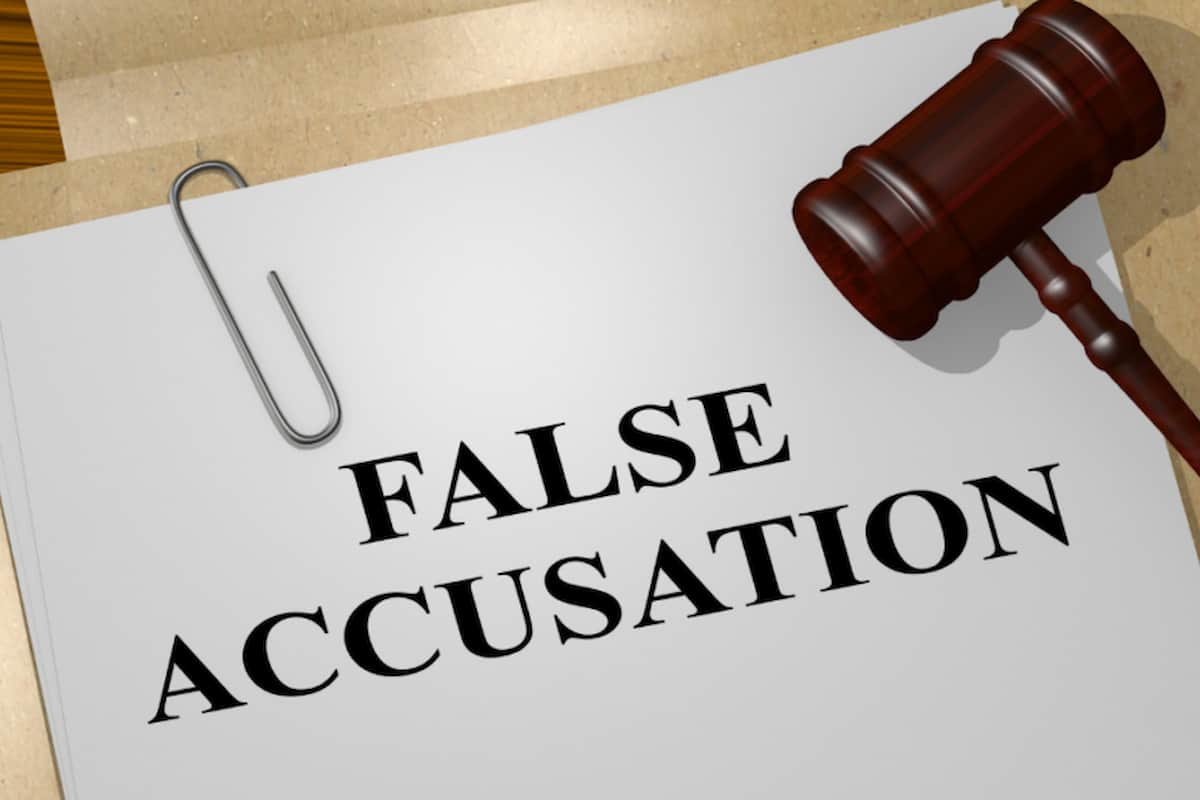 Falsely Accused of Domestic Violence
