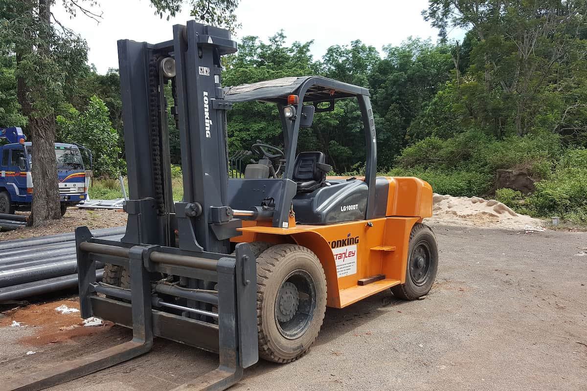forklift without a license