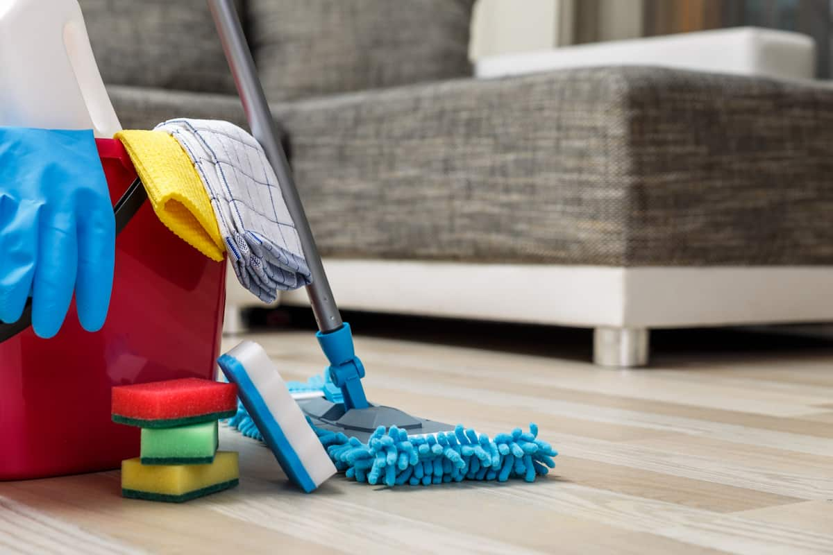 new house cleaning checklist