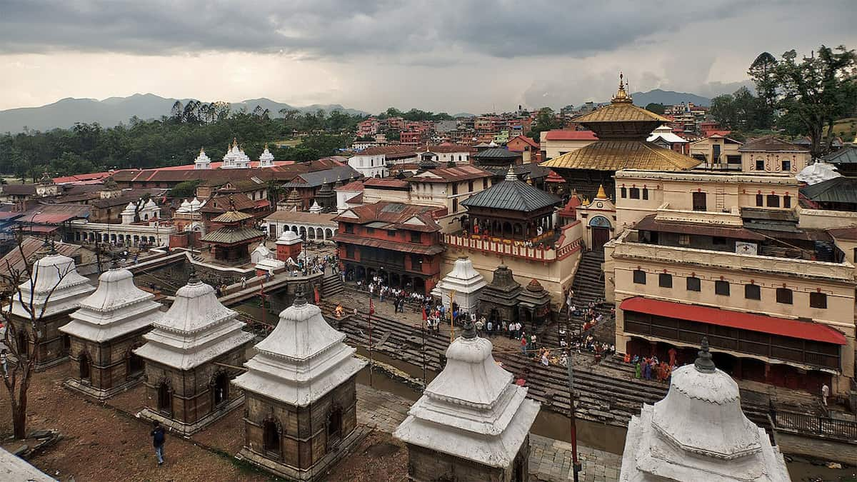 Delhi to Kathmandu flight