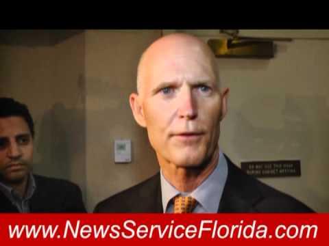 VIDEO: Scott asked about vetoed rape crisis center funding