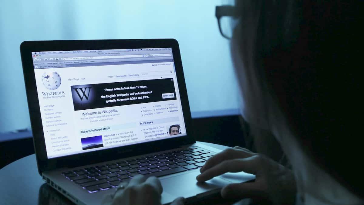 Internet blackout protests