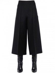 Wide Leg Cropped Trousers for Spring