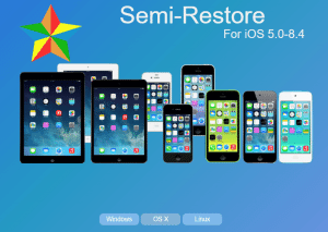 Semi-Restore – Free, Cross-platform Utility To Clean Wipe Your iDevice Without Losing Jailbreak