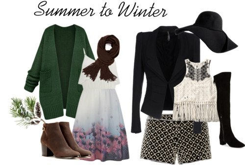 Summer to Winter Fashion: Ideas to Winterize Your Summer Clothing