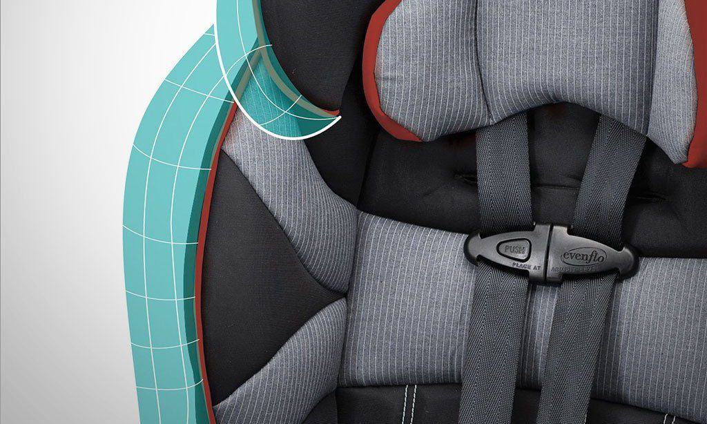 booster seat feature