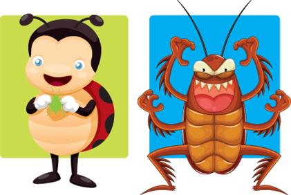 good vs bad bugs