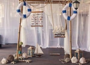 DIY Nautical Table Decore