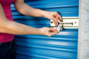 Storage: Add Lock to Unit Door
