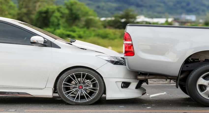 what to do when someone rear ends you