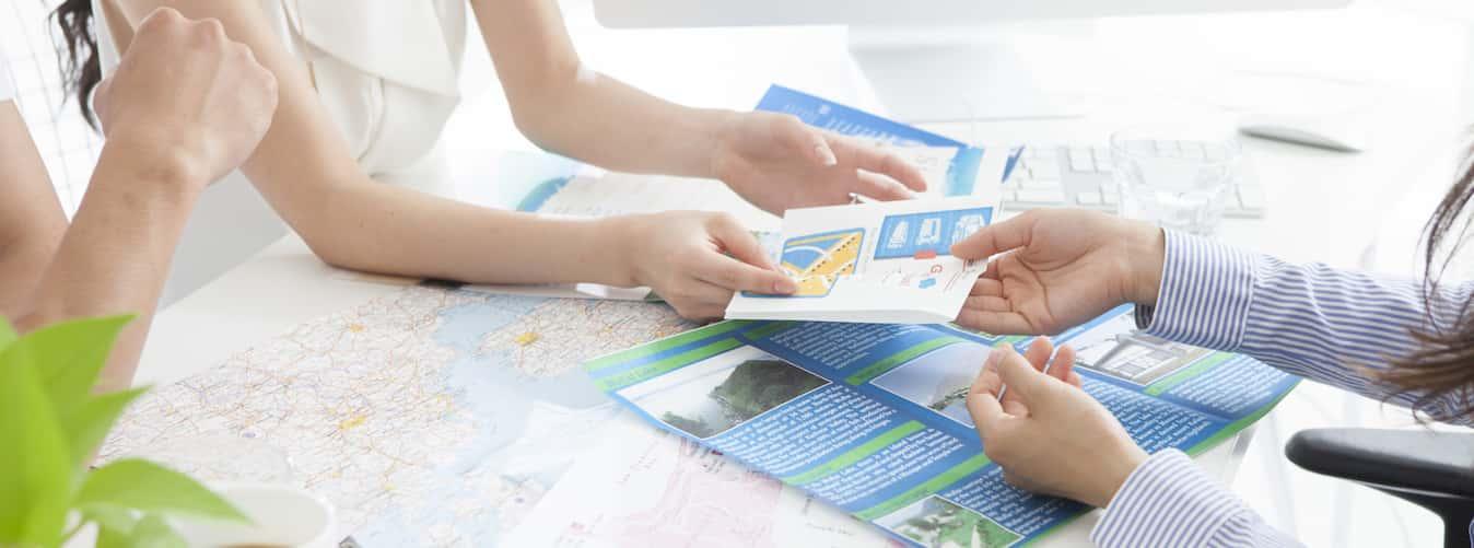 making brochures