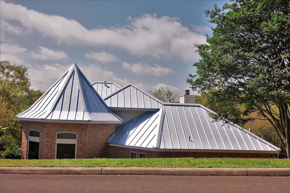 asphalt shingle and metal roofing