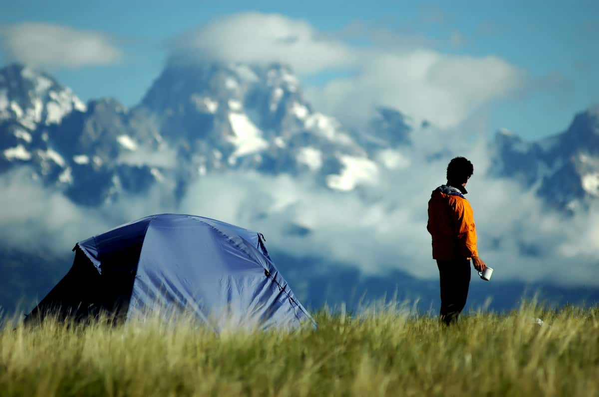 solo camping tips