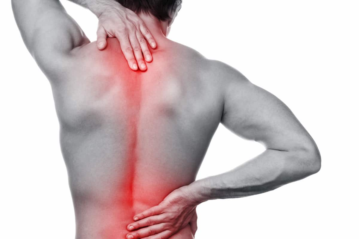 piercing pain in spine