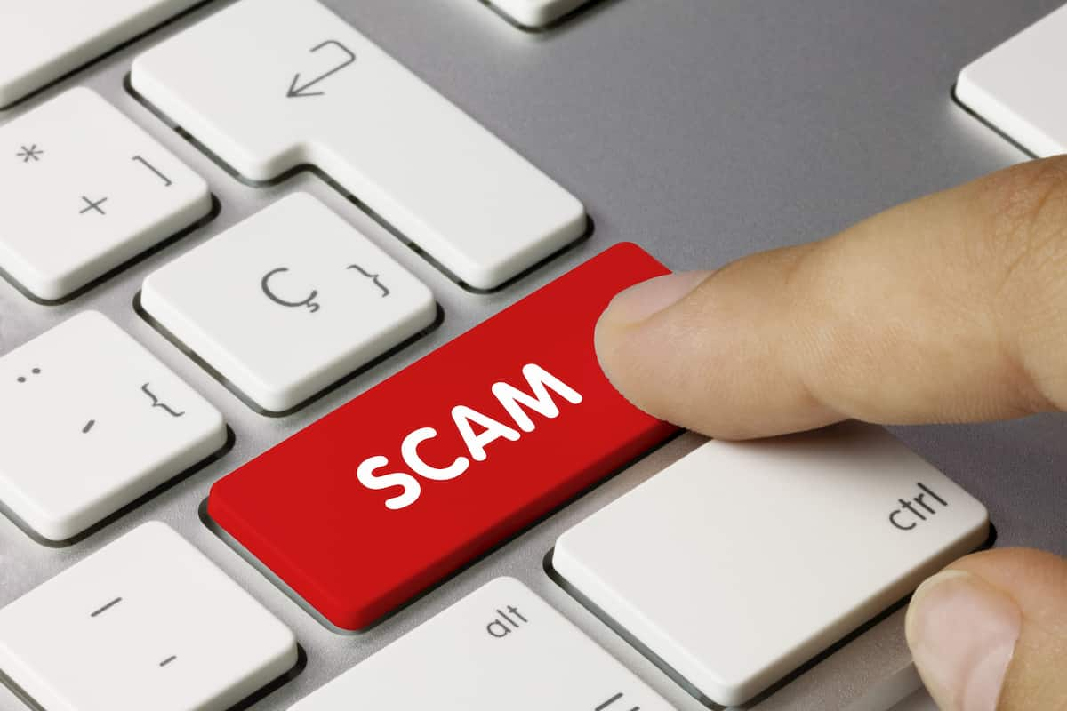 how to report a scam website