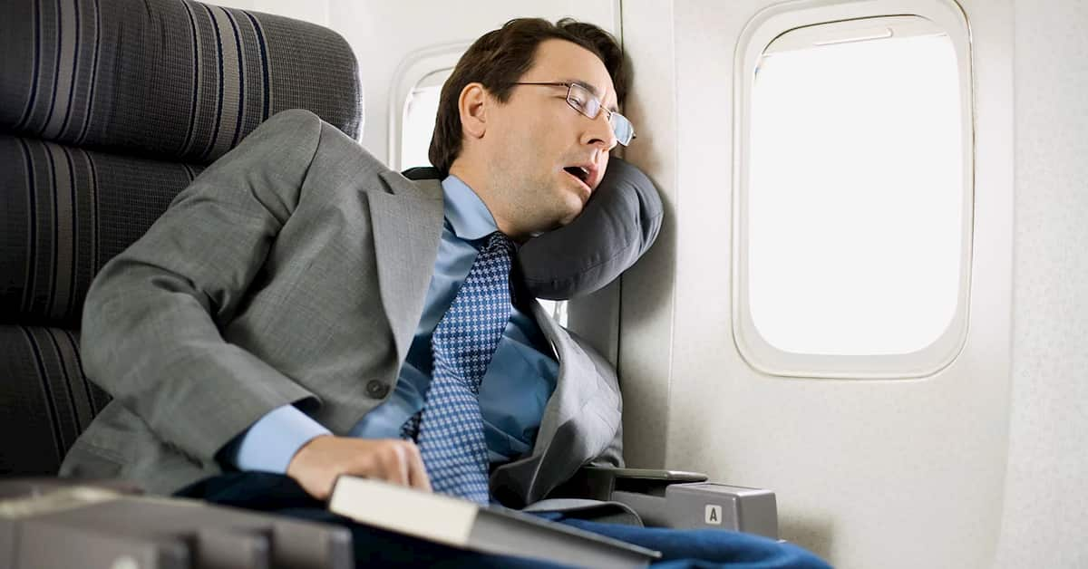 Fall Asleep on the Plane