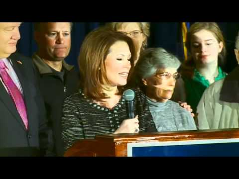 Bachmann steps out of 2012 presidential race