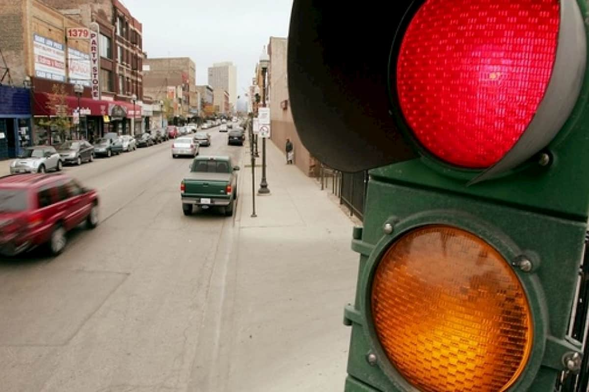 Drivers Running Red Lights