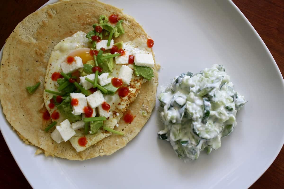 healthy mexican breakfast