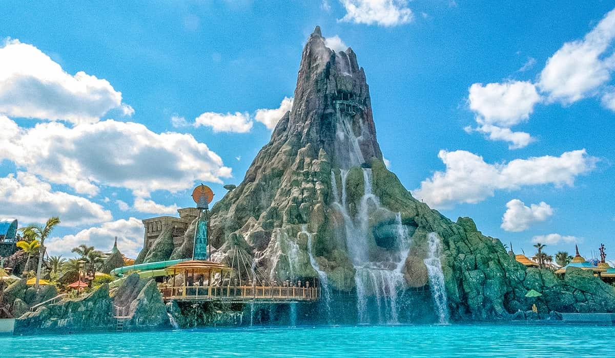 Volcano Bay attractions